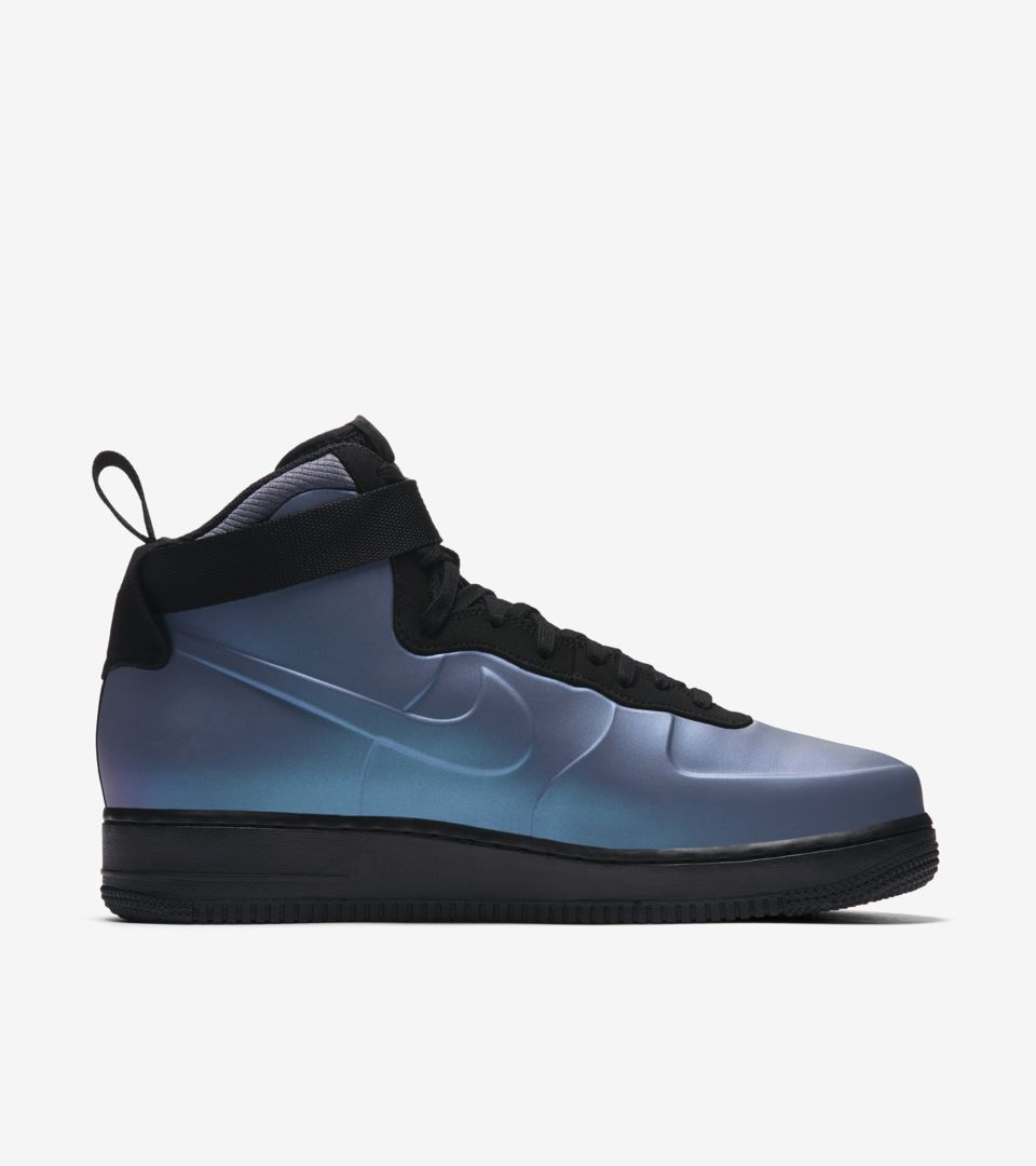 5a95b5aa1a1 Nike Air Force 1 Foamposite Cup  Light Carbon   Black  Release Date ...