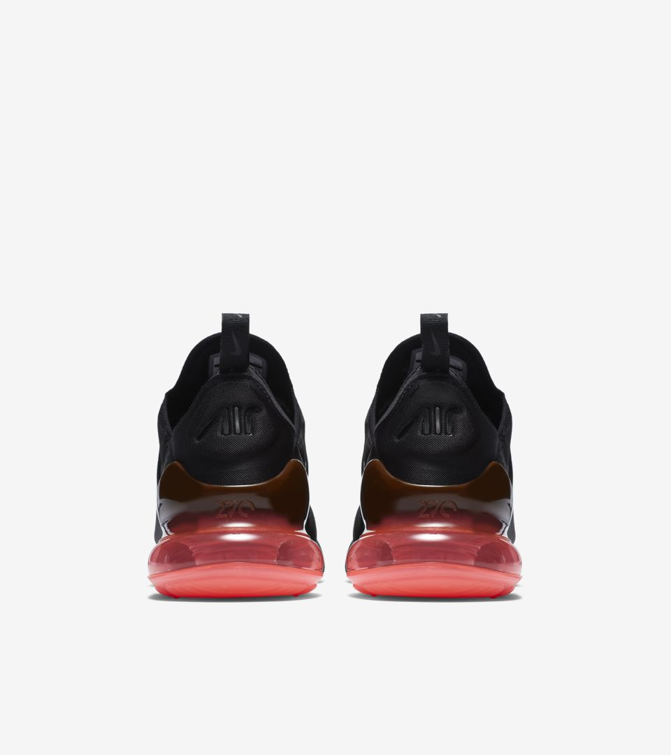 33ba0f4e0eae Nike Air Max 270  Black   Hot Punch  Release Date. Nike⁠+ SNKRS