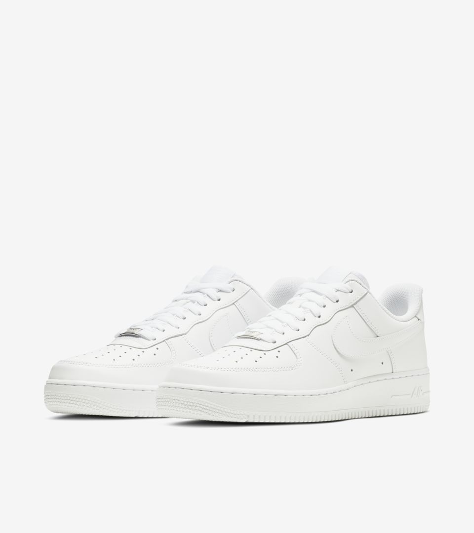 nike air force low 1 white