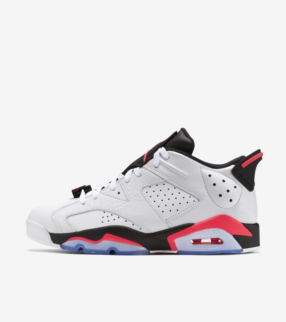 reputable site aae61 64b2e Air Jordan 6 Retro Low 'Infrared 23' Release Date. Nike⁠+ SNKRS