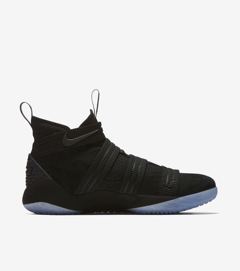 5d7998e07cd Nike LeBron Soldier XI Prototype  Black . Nike+ SNKRS