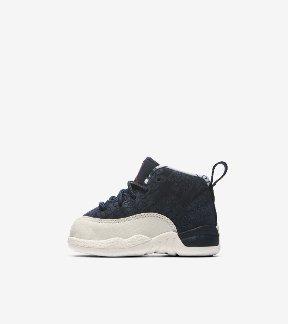timeless design ebd15 13fce Air Jordan 12 International Flight  College Navy  Release Date