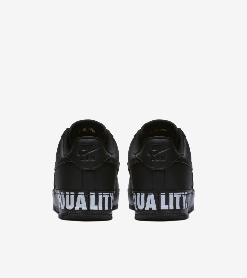 new arrival 8f043 e26f8 Nike Air Force 1 Low 'Equality' 2018 Release Date. Nike+ SNKRS