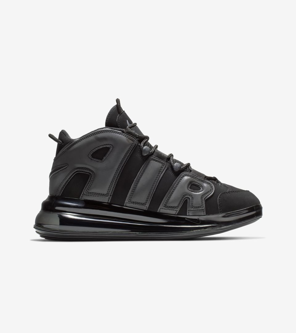 Nike Air More Uptempo 720 QS 1 'Black' Release Date