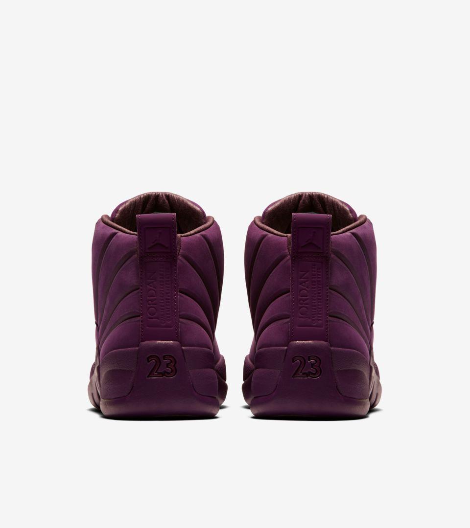 54b23305a64 Air Jordan 12 Retro PSNY  Bordeaux  Release Date. Nike+ Launch GB