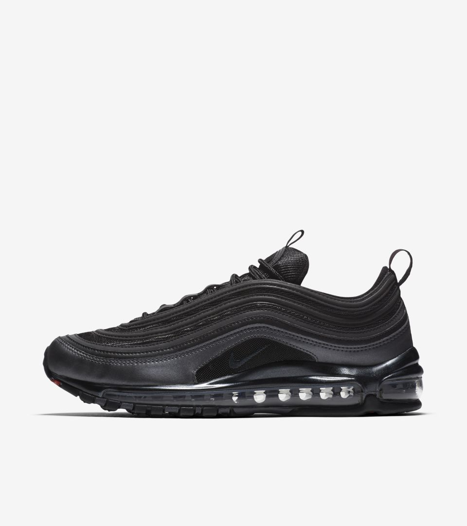 5e60427556 Nike Air Max 97 'Black & Anthracite' Release Date. Nike+ Launch GB