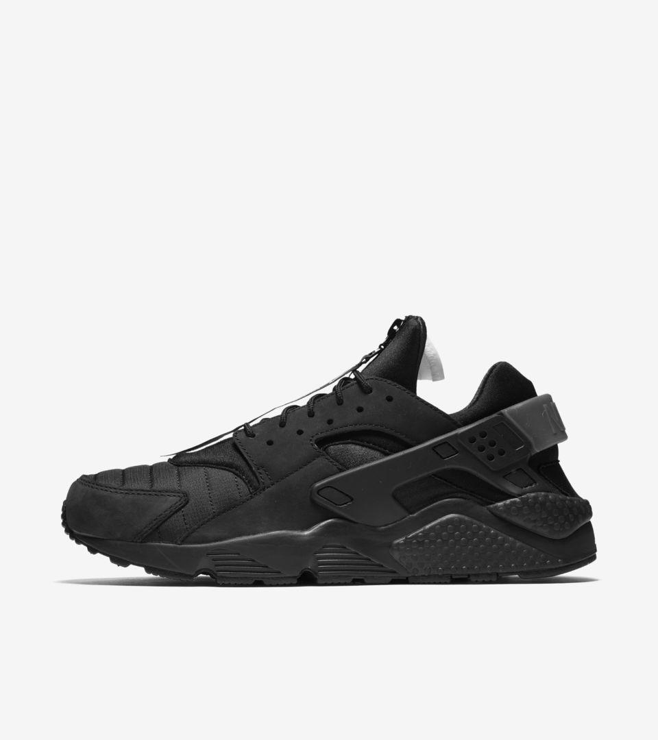 4c1c20ffe7178 Nike Air Huarache Run  Black   White  Release Date. Nike+ SNKRS