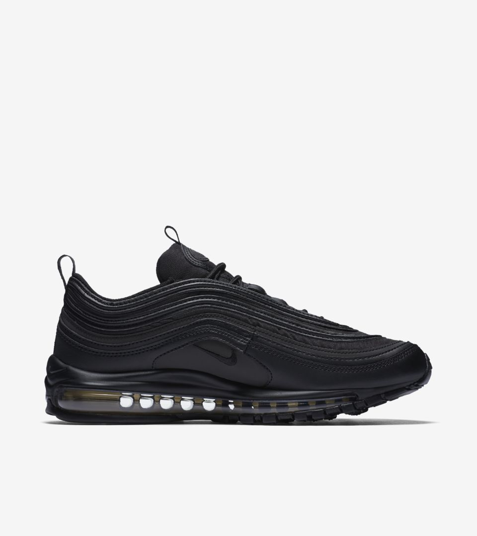 online store 1a906 dcff1 Nike Air Max 97 Premium 'Black & Gold' Release Date. Nike+ SNKRS