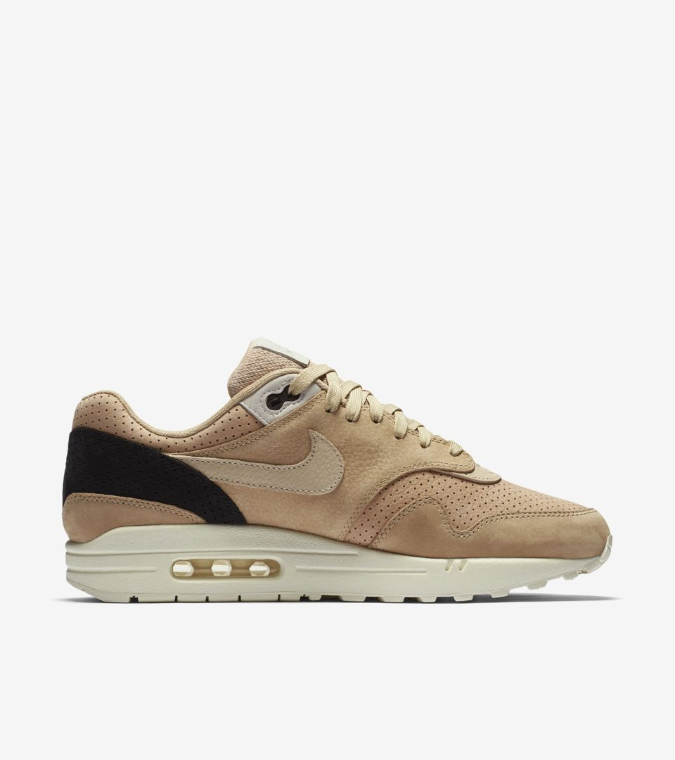 f0d9fa353b1 NikeLab Air Max 1 Pinnacle  Black   Bio Beige . Nike⁠+ SNKRS