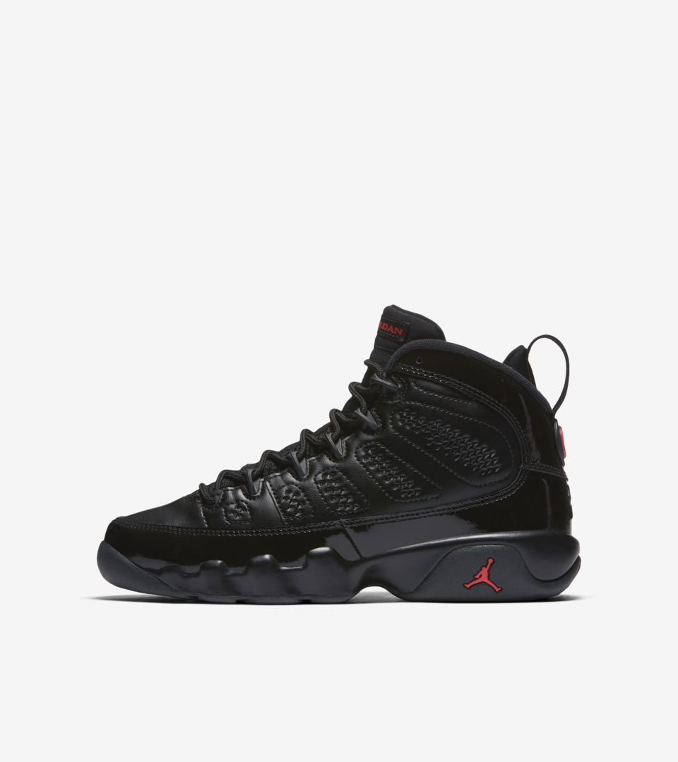 the latest ba7fa 7c1b0 Air Jordan 9 Retro 'Black & University Red' Release Date ...