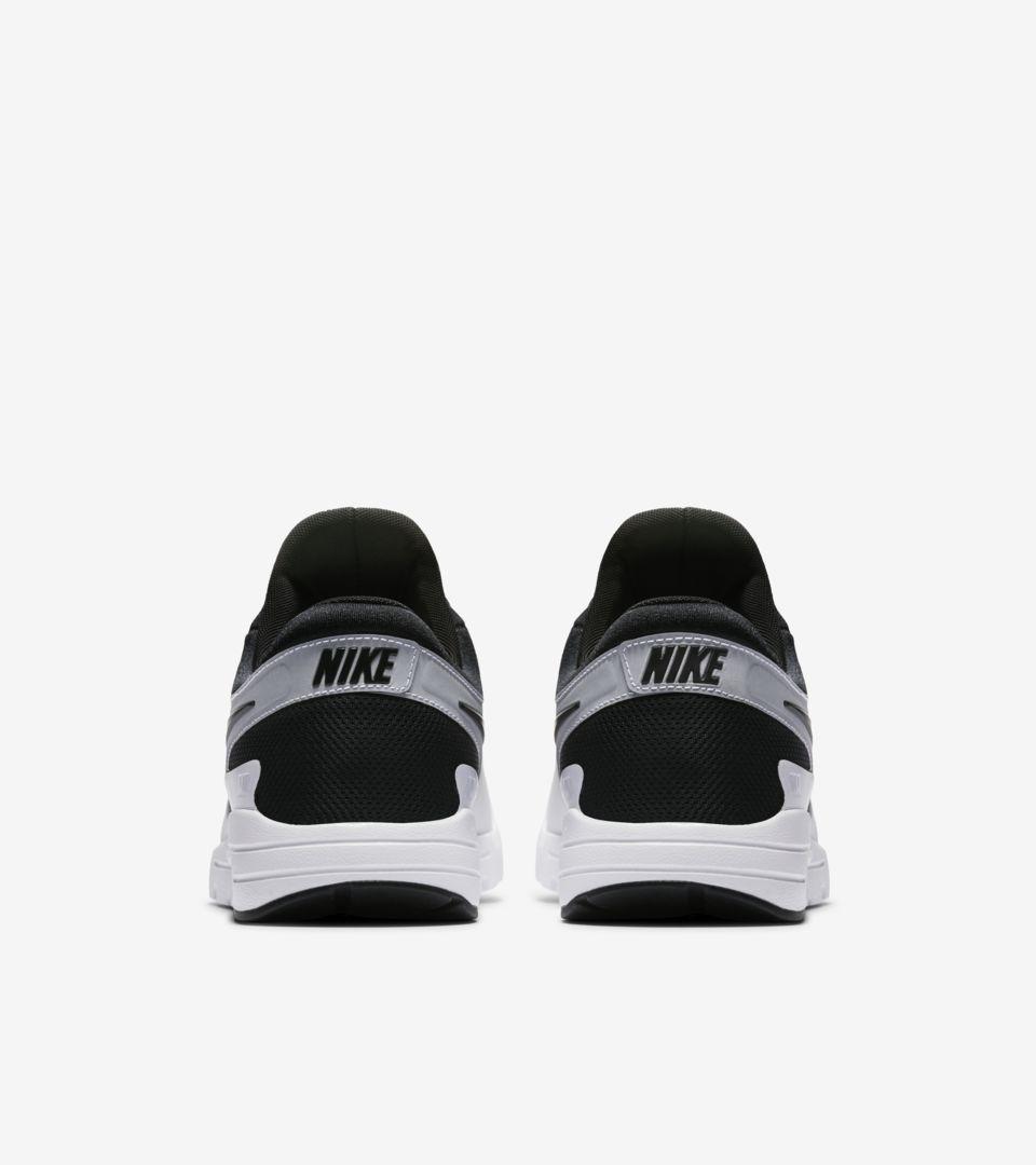 Women's Nike Air Max Zero 'White & Black' 2016. Nike+ SNKRS