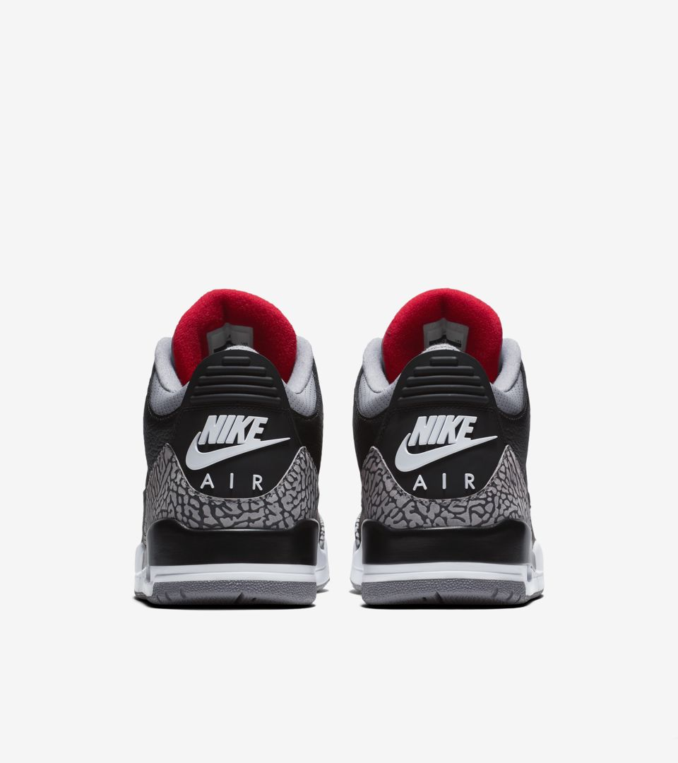 separation shoes f4737 dc685 Air Jordan 3 Retro OG 'Black Cement' 2018 Release Date ...
