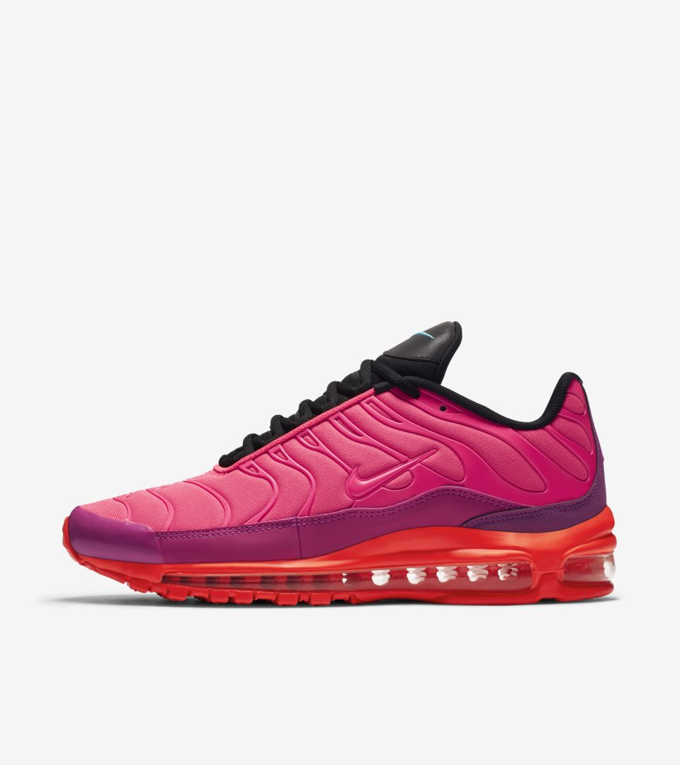 17f7a918a5 Nike Air Max 97 / Plus 'Shock Orange & Black' Release Date. Nike⁠+ SNKRS