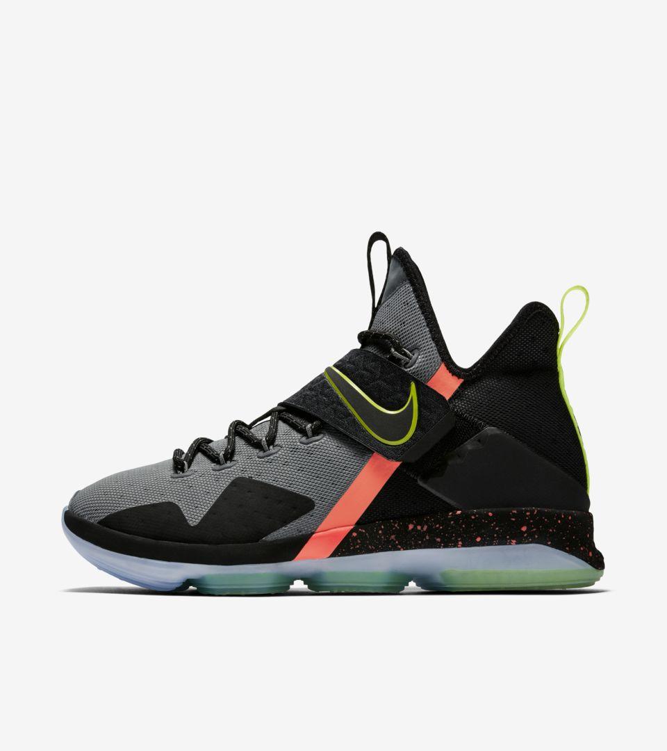 huge discount 661b4 bf39d Nike LeBron 14 'Black & Cool Grey'. Nike+ SNKRS