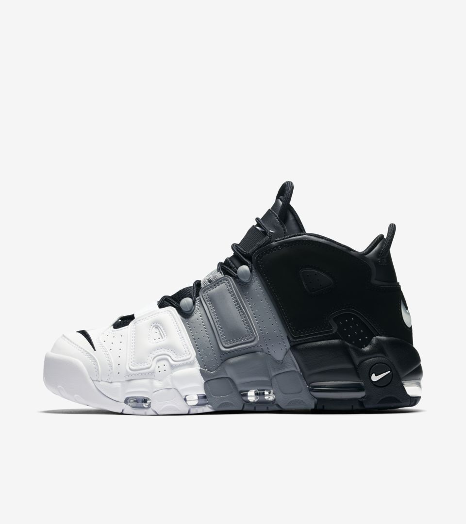Egomanía En riesgo monstruo  Nike Air More Uptempo '96 'Black & White & Cool Grey'. Nike SNKRS