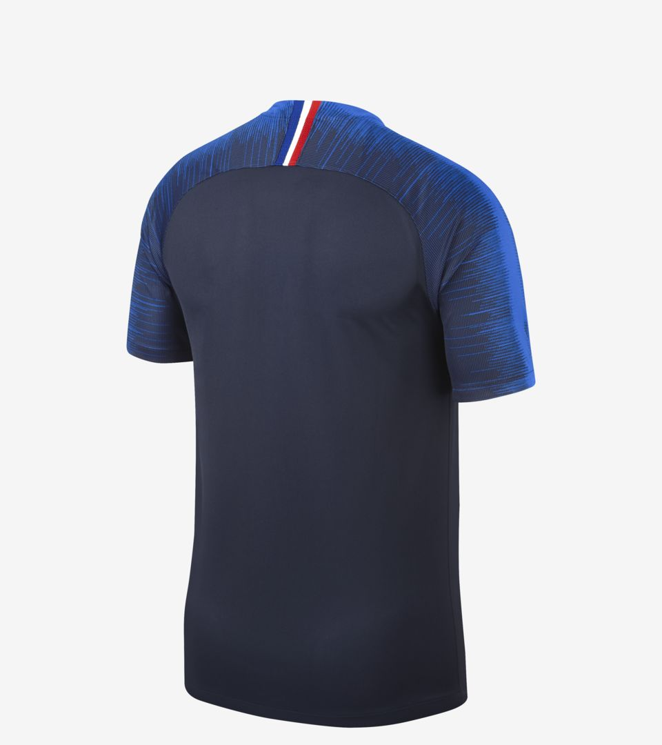 5442705c6 2018 FFF STADIUM HOME KIT. FRANCE FOOTBALL FEDERATION