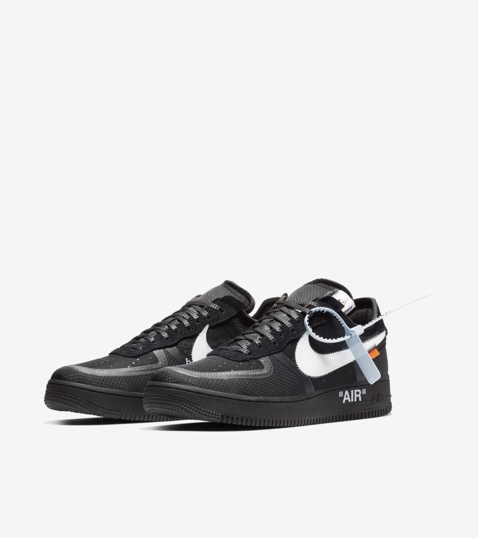 The 10: Nike Air Force 1 Low 'Black & Cone & White' Release