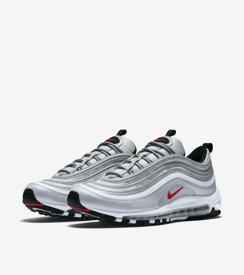 classic styles good looking new arrive Nike Air Max 97 OG 'Metallic Silver'. Nike SNKRS