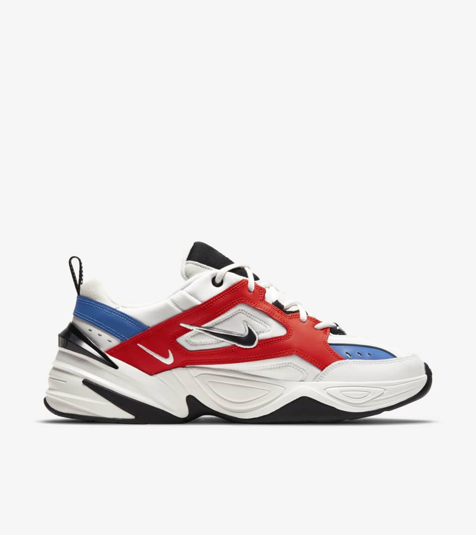 Nike M2K Tekno 'Summit White & Team Orange & Mountain Blue' Release Date