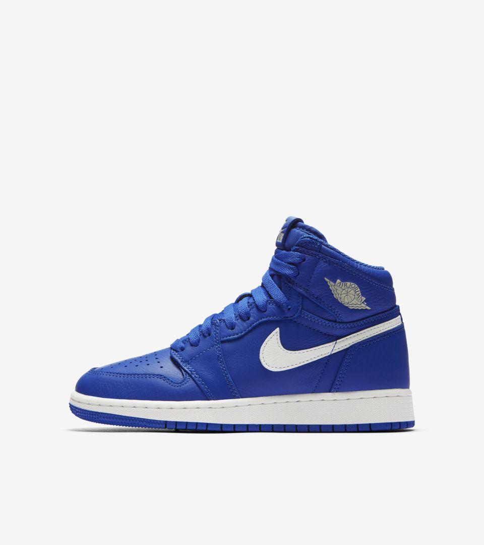 8e5e12745ad20d Air Jordan 1 Retro High OG  Hyper Royal   White  Release Date. Nike ...