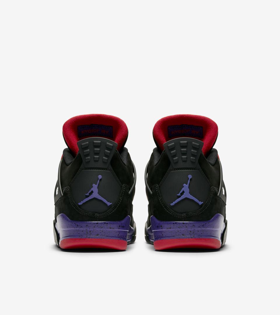 factory authentic bbd78 b3685 Air Jordan 4 'Black & Court Purple' Release Date. Nike+ SNKRS