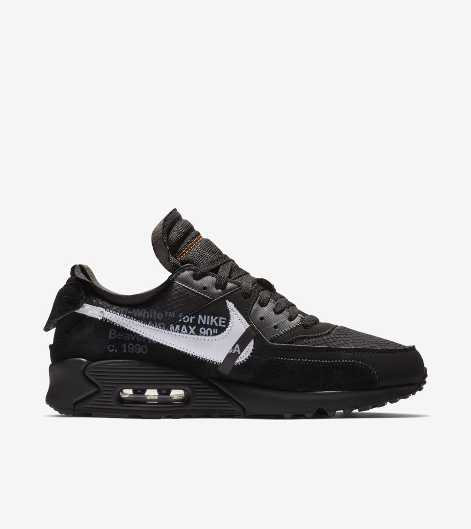 The Ten: Air Max 90 'Black & Cone & White' Release Date