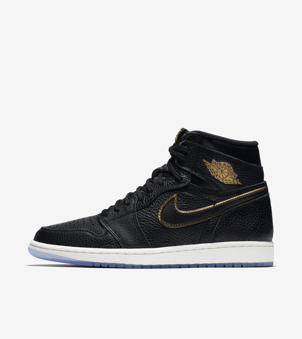 0c63f63ad1b Air Jordan 1 High OG 'Black & Summit White' Release Date. Nike⁠+ SNKRS