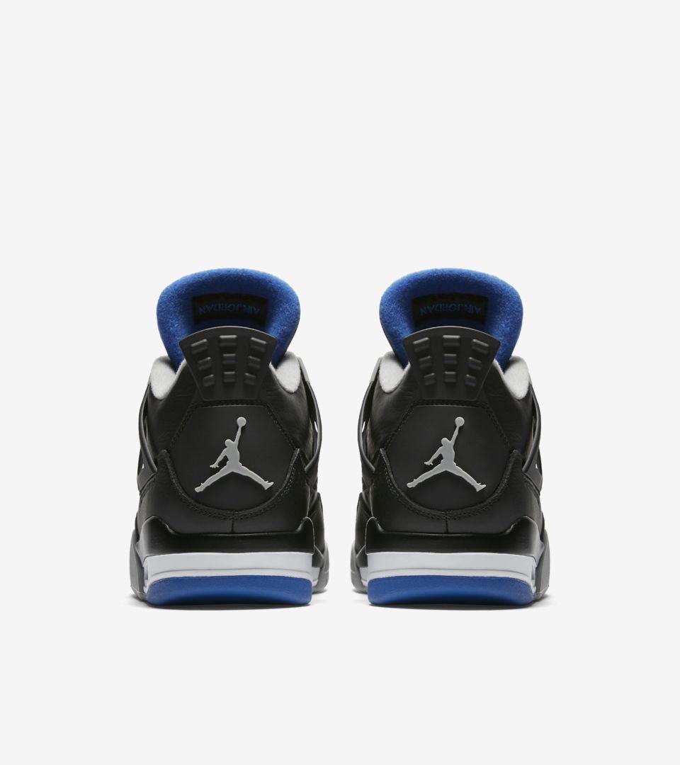 73083e7e582e37 Air Jordan 4 Retro  Motorsport Away  Release Date. Nike+ SNKRS