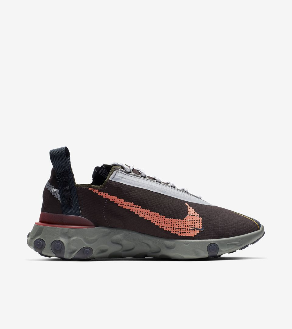 Nike React Runner WR ISPA 'Velvet Brown & Dark Stucco & Terra Orange' Release Date