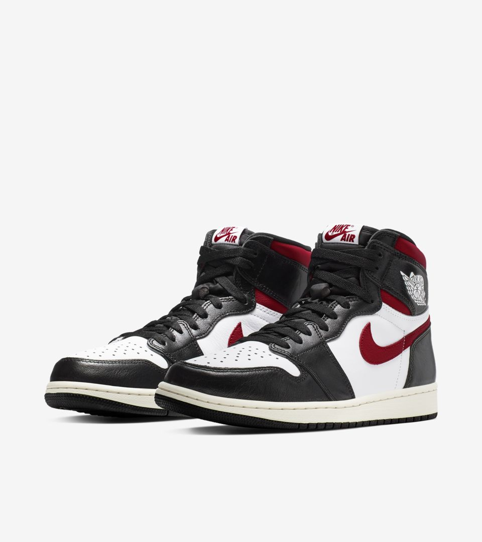 new arrival 38d82 c5a73 Air Jordan I 'Black/White/Sail/Gym Red' Release Date. Nike+ ...