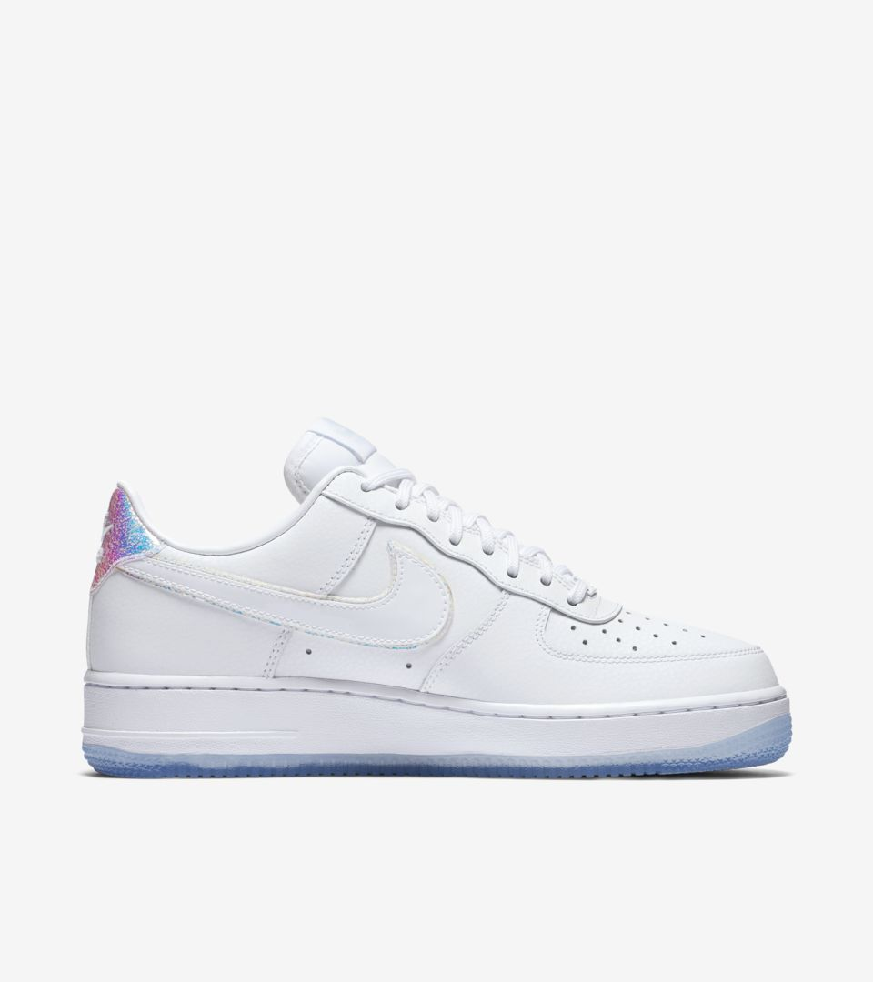 Women s Nike Air Force 1 Low  Blue Tint . Nike⁠+ SNKRS 2f48f701b5