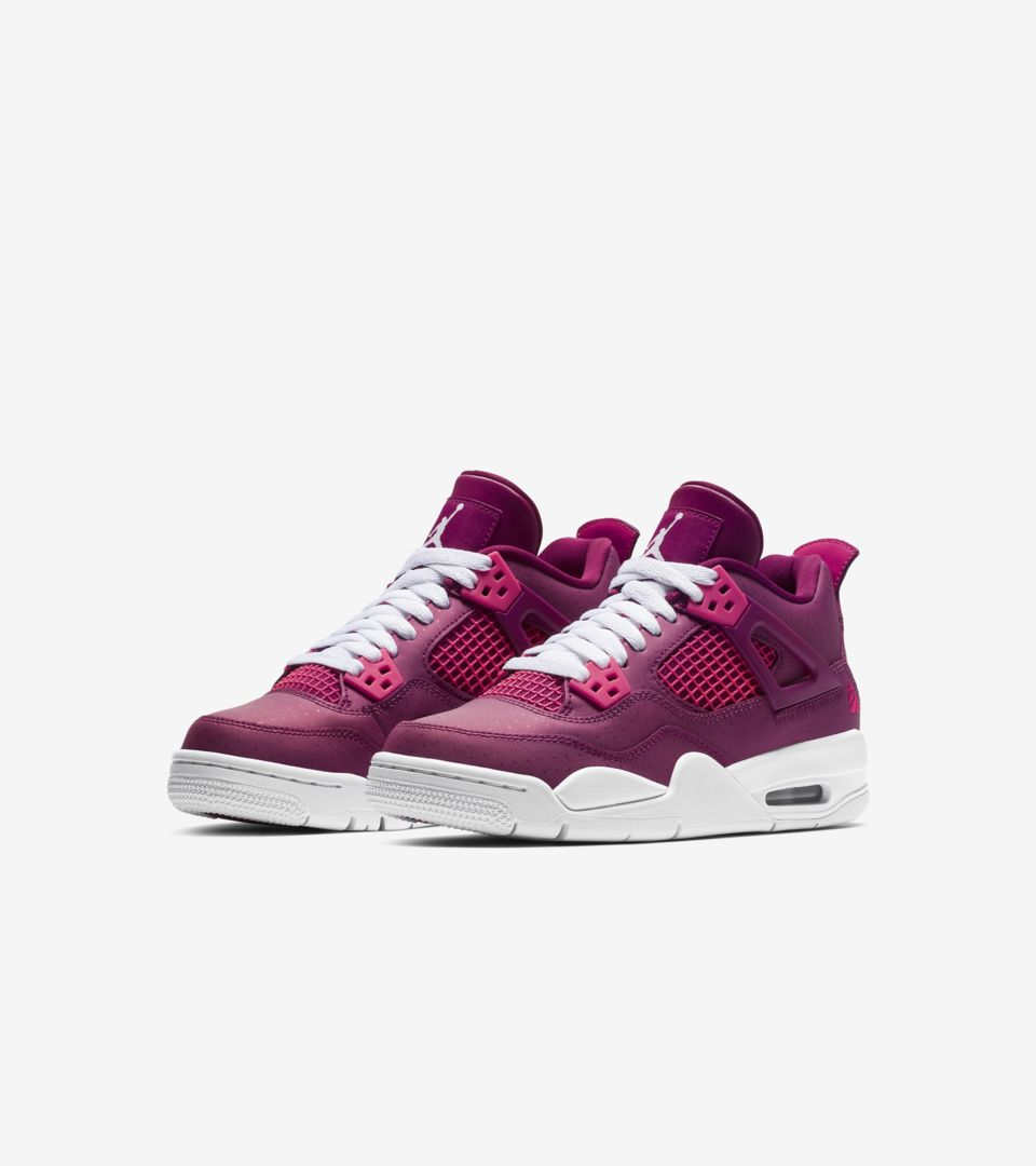 separation shoes 28e68 d02f2 Big Kids' Air Jordan 4 Retro 'Berry Pink' Release Date. Nike ...