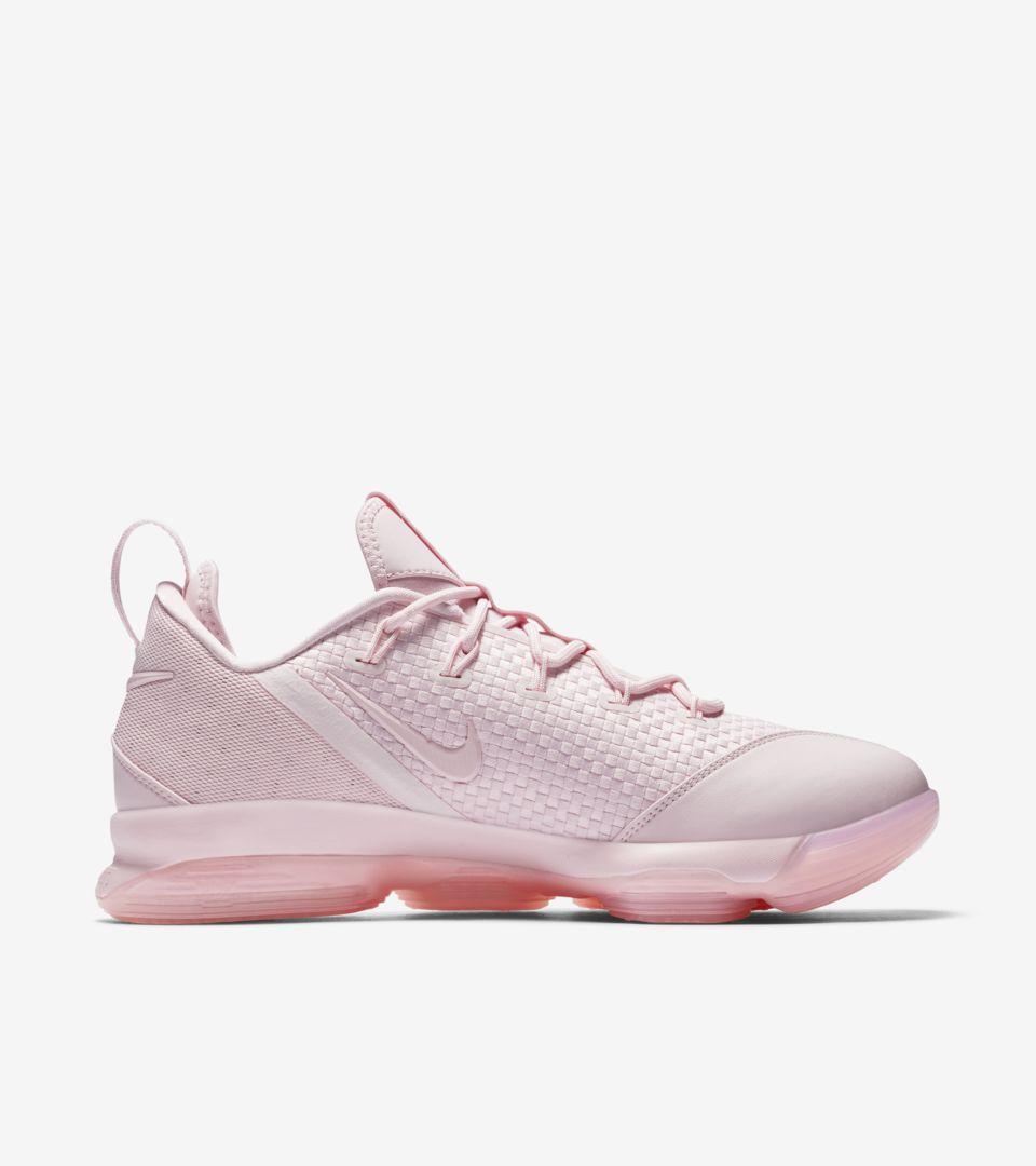 d0ebd06e2f6 Nike LeBron 14 Low  Prism Pink . Nike+ SNKRS