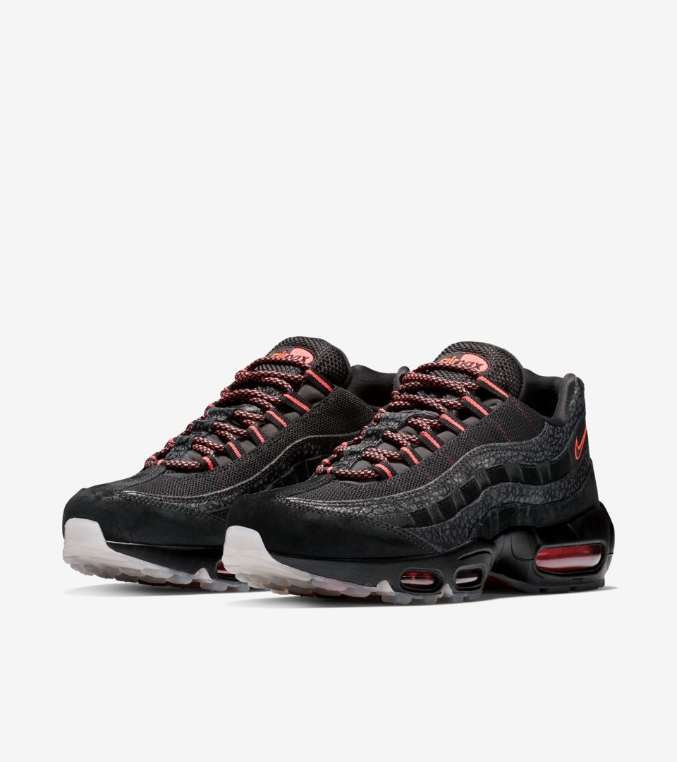 Nike Air Max 95 'Black / Infrared' Release Date