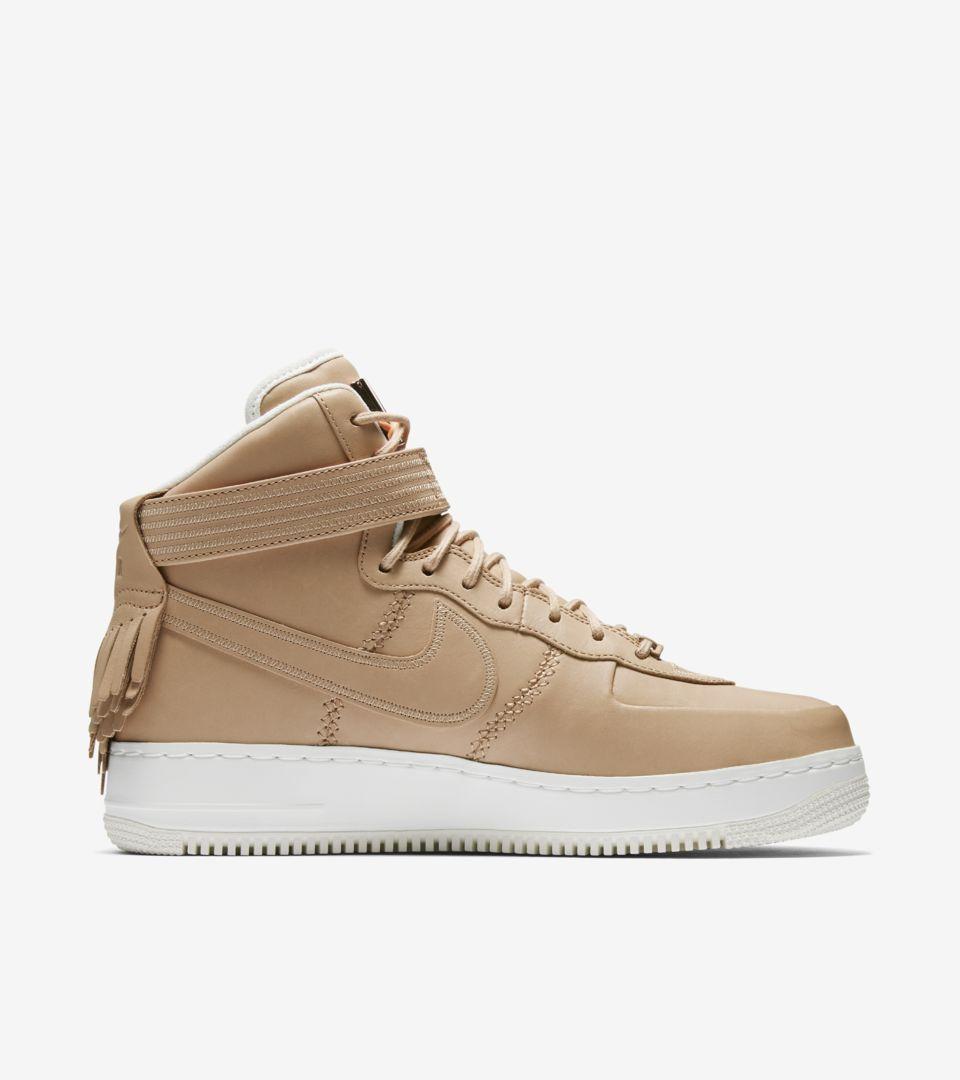 471d499e0f53 Nike Air Force 1 High Sport Luxury  Vachetta Tan . Nike+ Launch GB