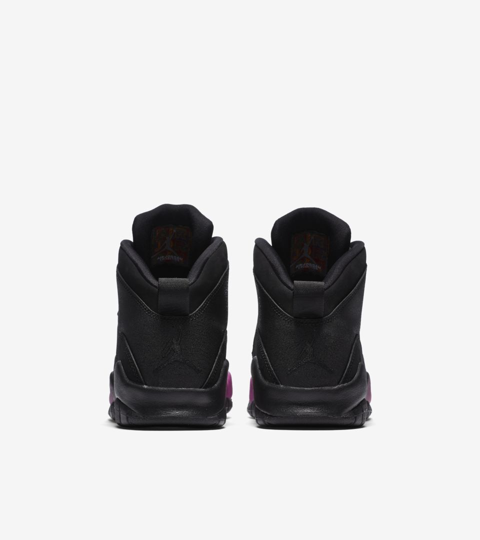info for 80f4f 0bac2 Air Jordan 10 GG Heiress 'Black & Fuchsia Blast' Release ...
