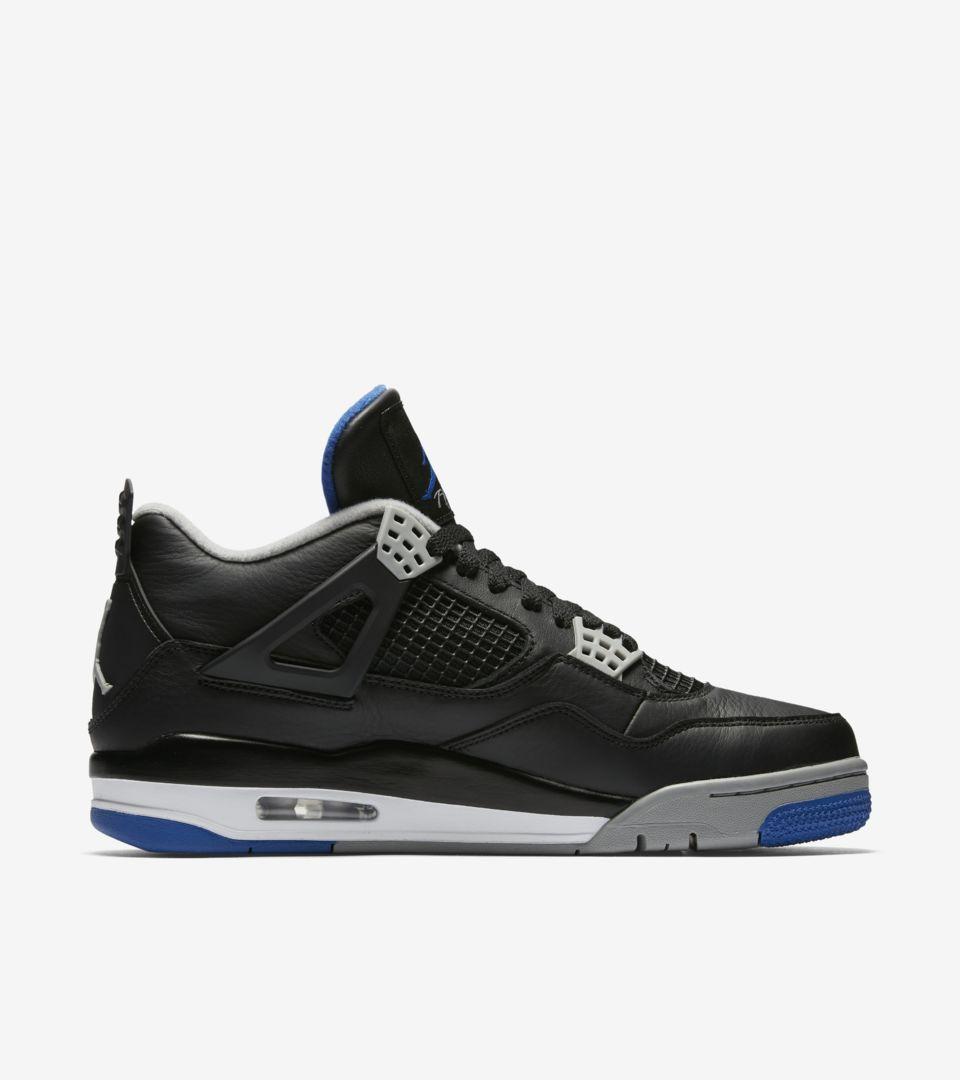 dc50b3a06dd12a Air Jordan 4 Retro  Motorsport Away  Release Date. Nike+ SNKRS