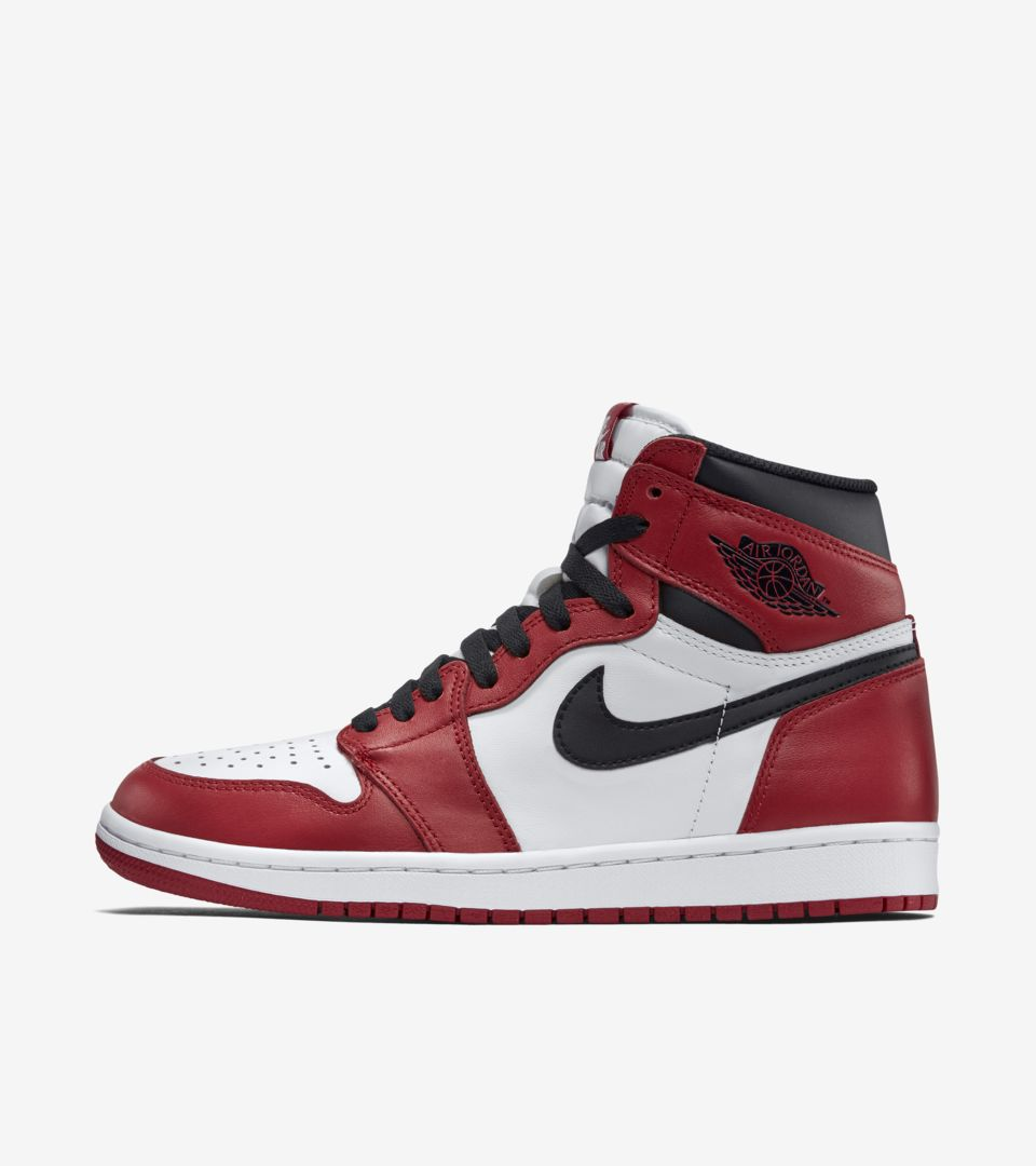 the latest 8cf61 5224e Air Jordan 1 Retro  Chicago  Release Date. Nike⁠+ SNKRS