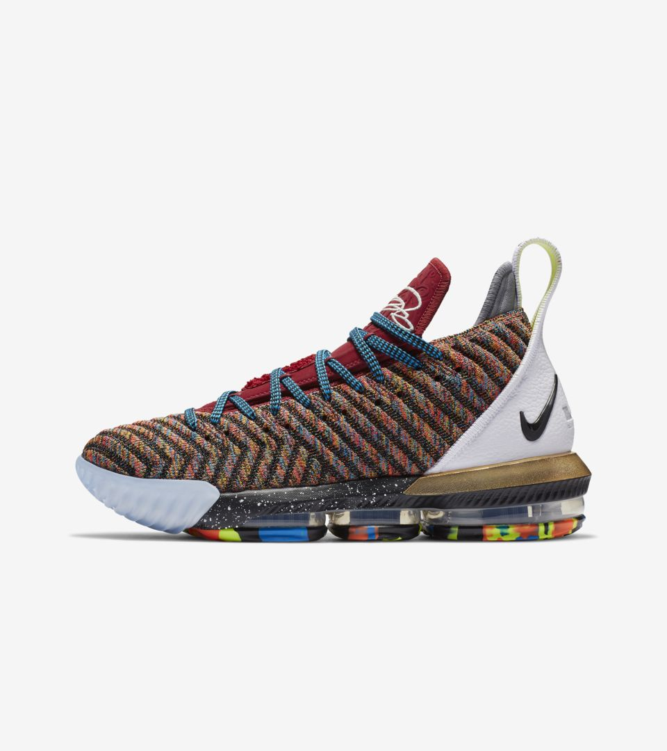 49afe43c0aa3 Nike LeBron 16 Photos Release