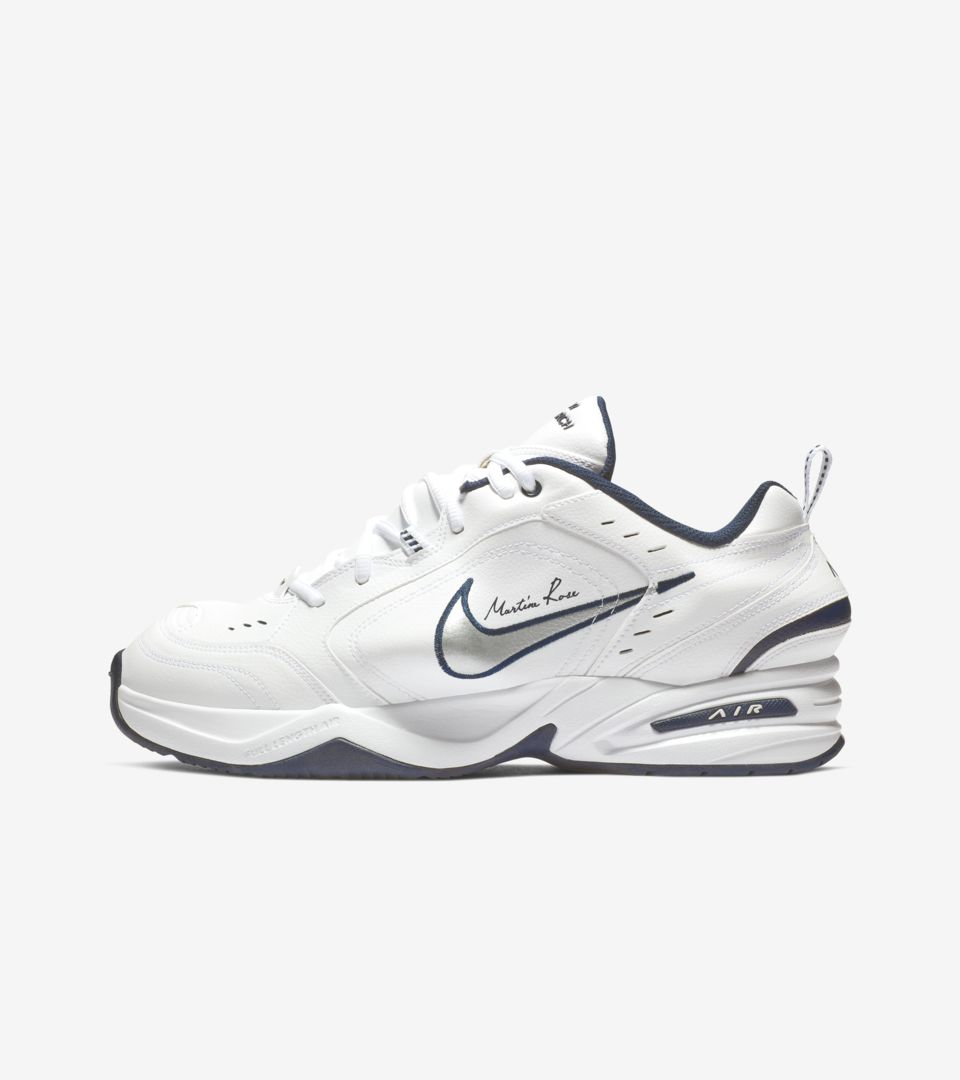 Nike Air Monarch 4 Martine Rose 'White' Release Date