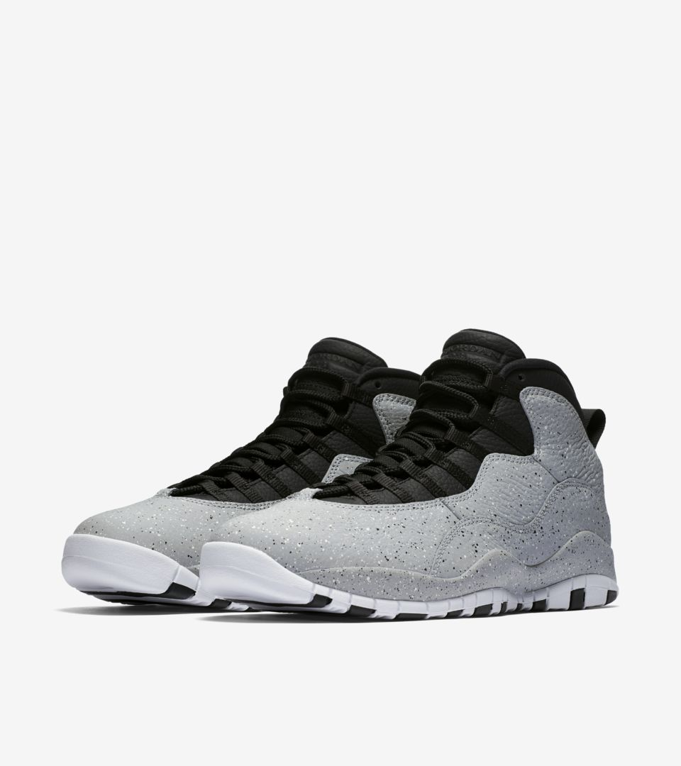 quality design bd73a 59b94 AIR JORDAN X. LIGHT SMOKE GREY