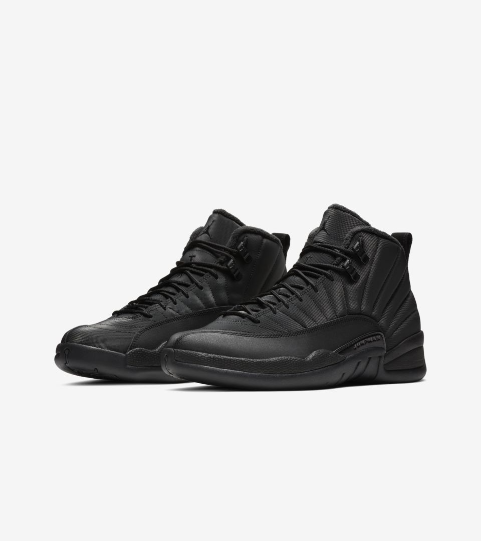 buy online 0165f def12 ... Air Jordan 12 Retro Winter  Black   Anthracite  ...