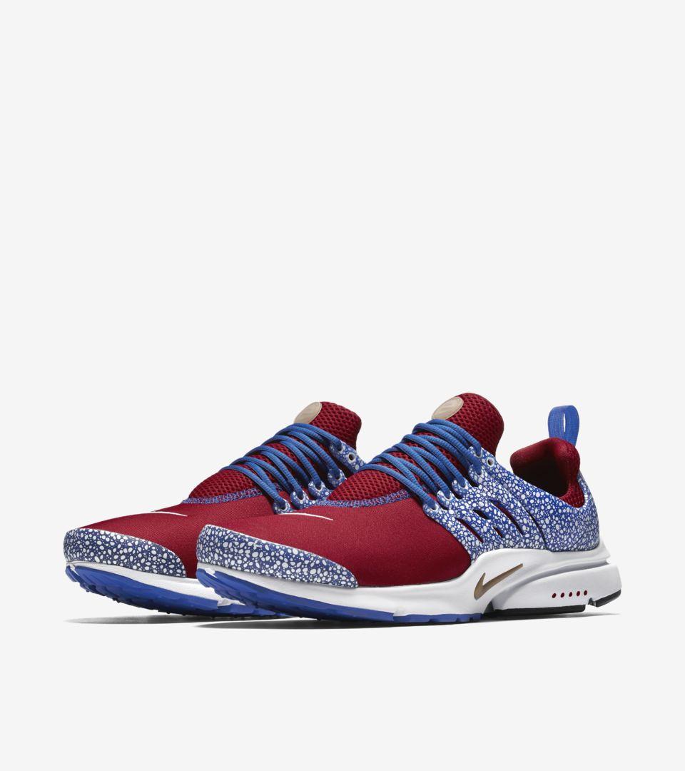 Nike Air Presto 'Gym Red \u0026 Racer Blue