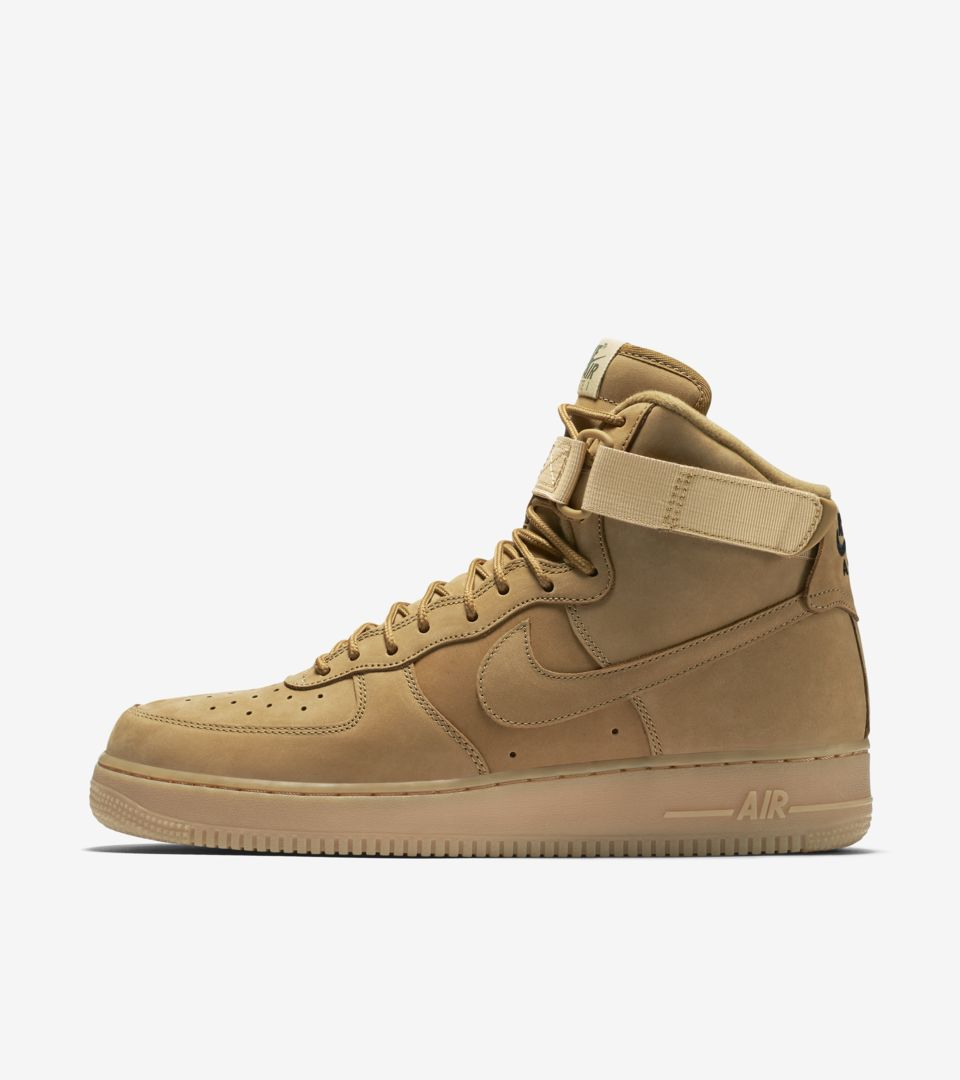 brand new 21009 9df07 Nike Air Force 1  Flax . Nike⁠+ SNKRS