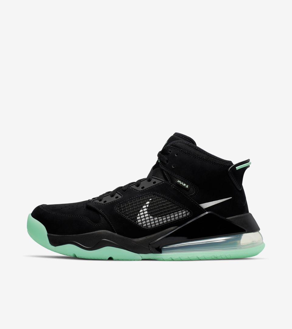 quality design b140f 6ab60 Jordan Mars 270 'Green Glow' Release Date. Nike+ Launch GB
