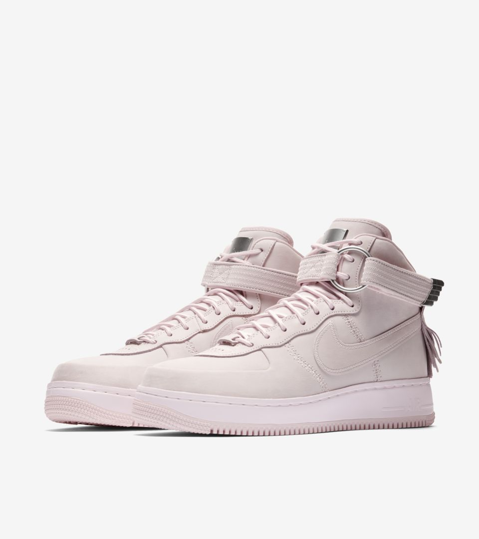 info for 9bd41 04e6b Nike Air Force 1 High Sport Lux 'Pearl Pink' Release Date ...