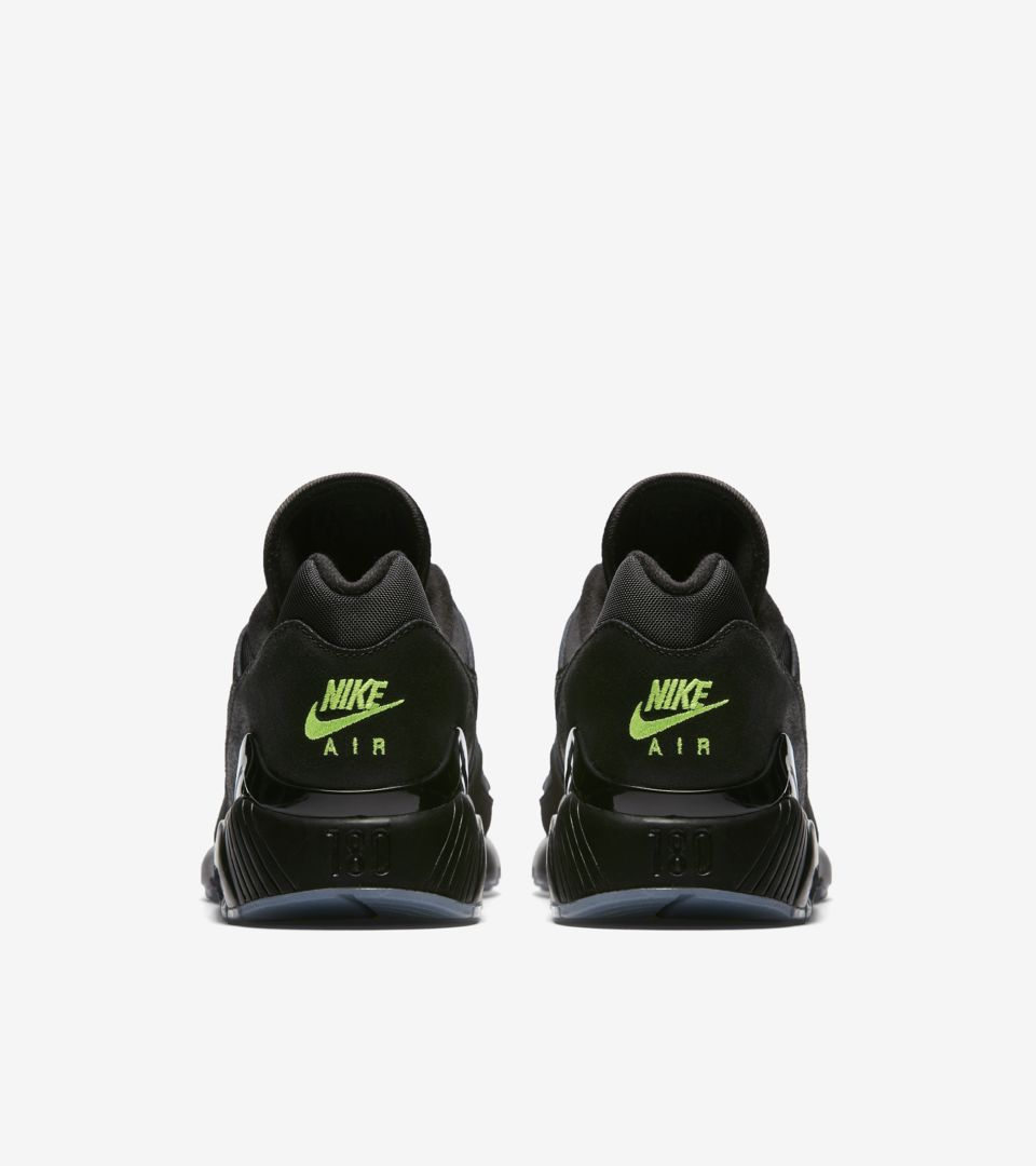f3703534b48 Nike Air Max 180  Black   Volt  Release Date. Nike⁠+ SNKRS