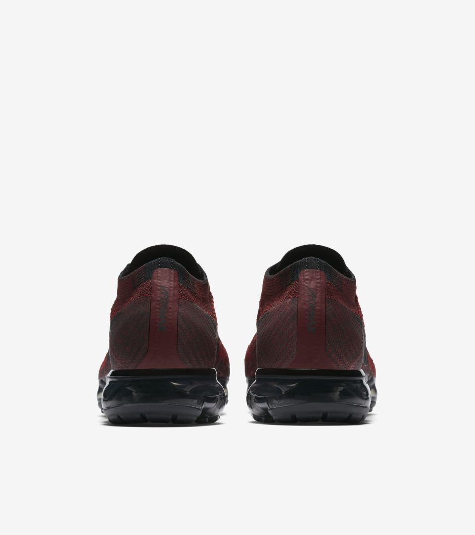 531b005692f9 Nike Air Vapormax  Dark Team Red   Black . Nike+ SNKRS