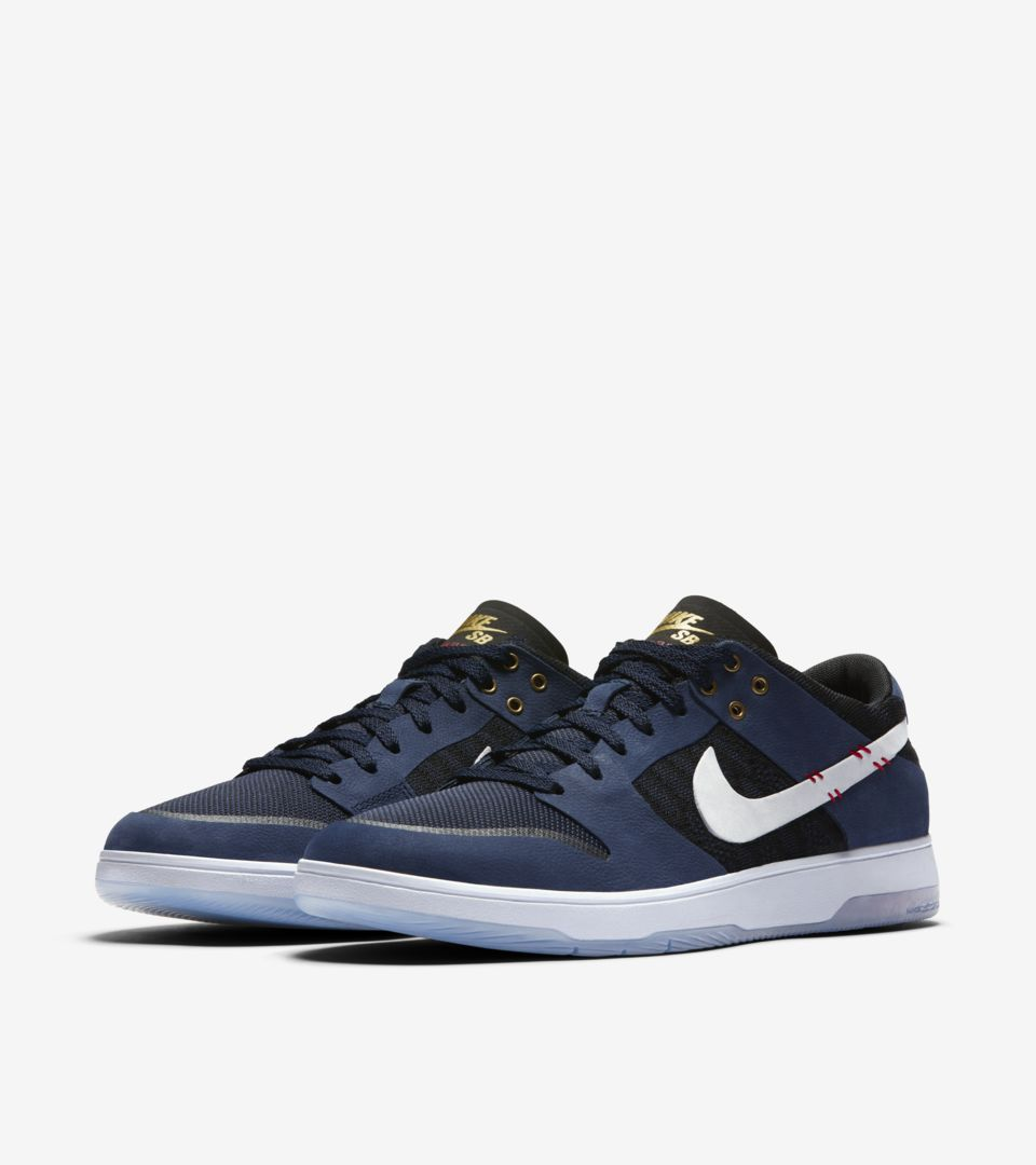 detailed look b41b6 81014 Nike SB Dunk Low Elite 'Sean Malto'. Nike⁠+ SNKRS