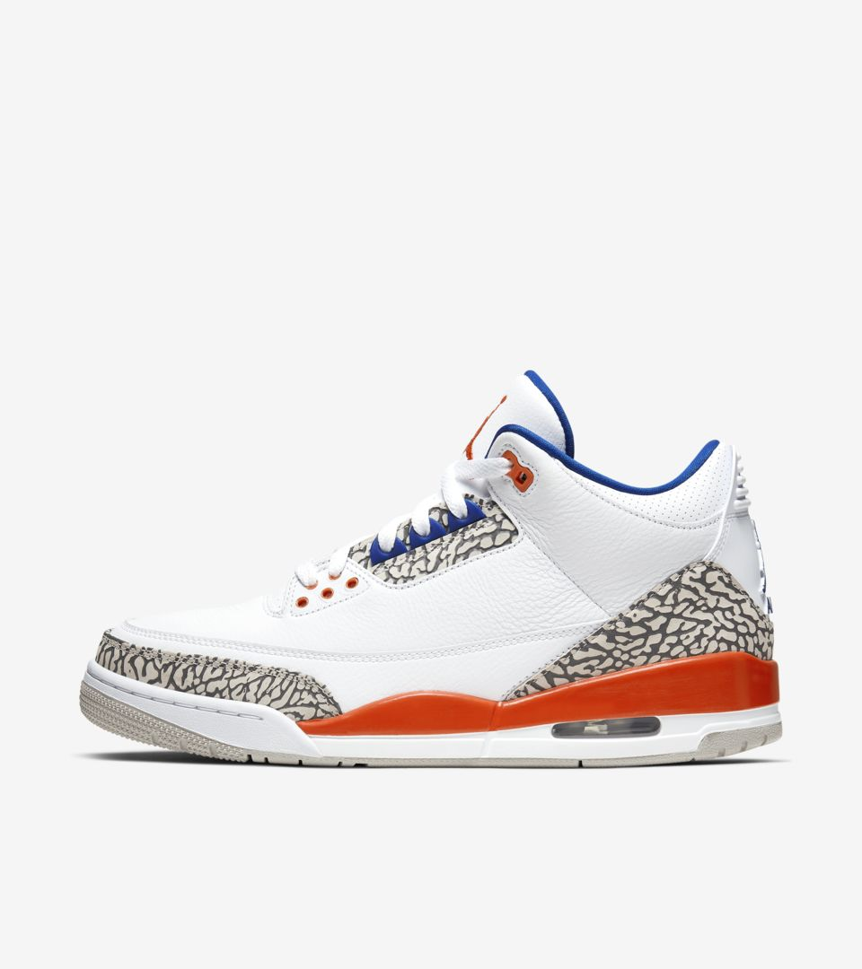 super popular ccf7d 3cc03 Air Jordan 3 'White/Orange' Release Date. Nike⁠+ SNKRS